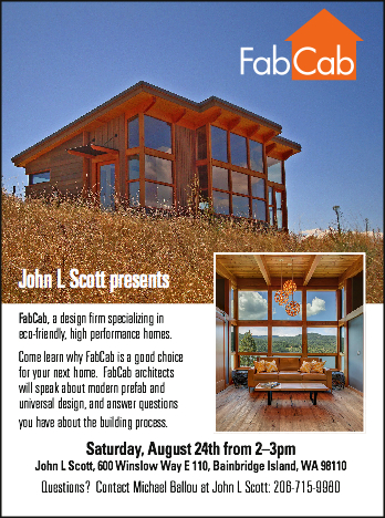 FabCab Bainbridge Island Seminar